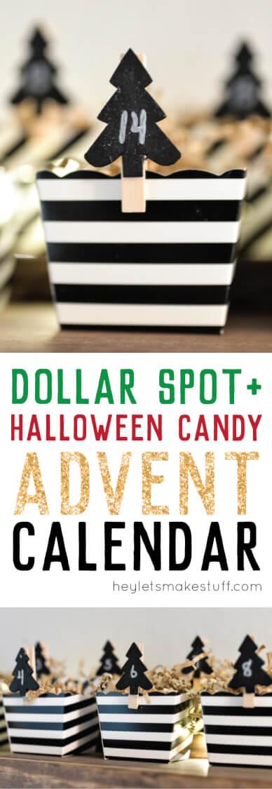 Dollar Spot advent calendar pin image
