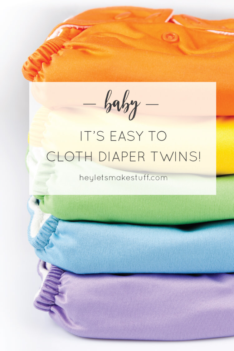 Thinking about cloth diapering your twins? Here's how we do it -- and why we think it's a GREAT choice for multiples!