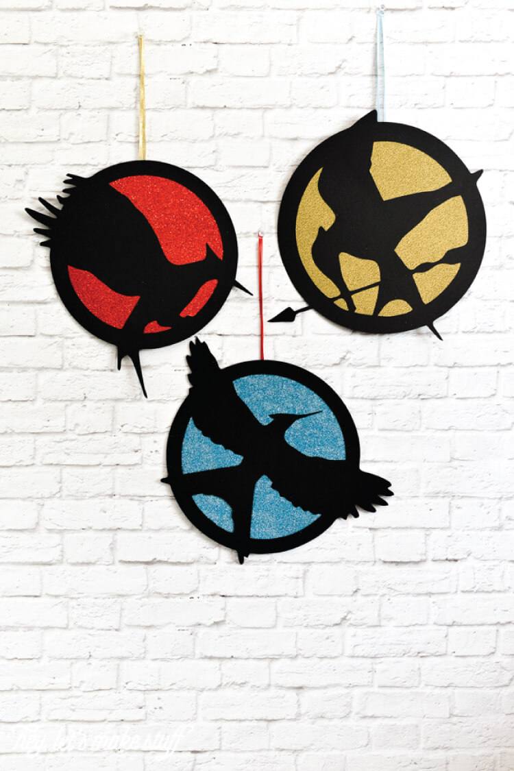 Free Hunger Games logo electronic cutter SVG cut files -- may the odds be ever in your favor!