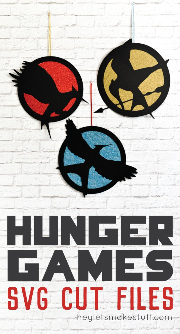 Hunger Games SVG cut files pin image