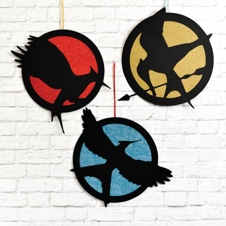 Free Hunger Games logo electronic cutter SVG cut files