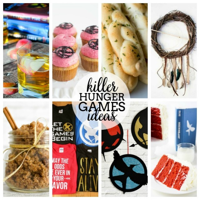 The Hunger Games ideas for a party collage