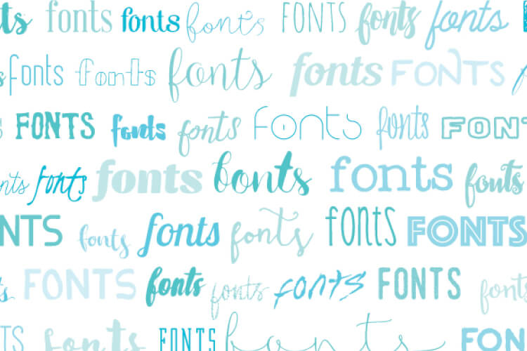 Tech tip: You can delete fonts on your computer! Makes it so much easier to find a font when you're only looking through fonts you like!