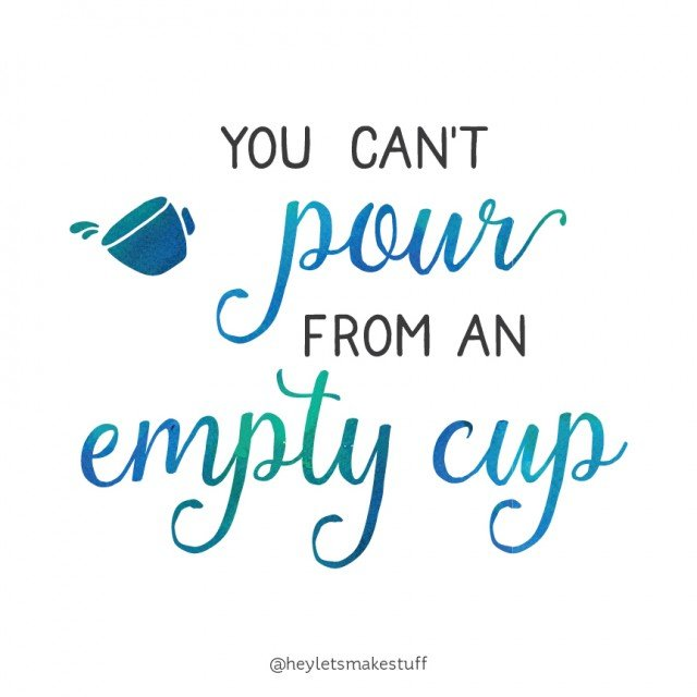 You can't pour from an empty cup! And other truths about taking a kid-free vacation without the mom-guilt.