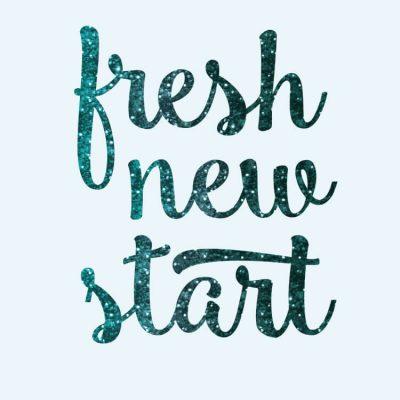 Fresh New Start Digital Wallpaper