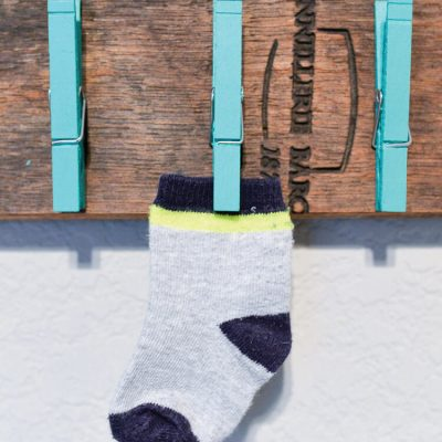 Lost and Found Sock Holder