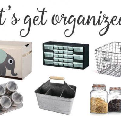 Get Organized + HUGE Amazon Giveaway!