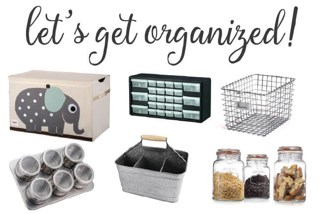 45 incredible ideas from top bloggers -- get organized NOW!