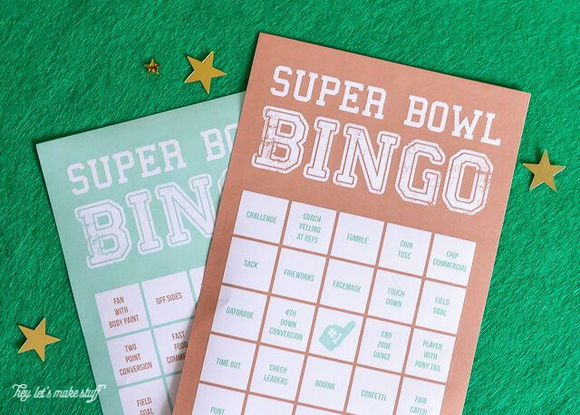 640 x 458 jpeg 421kB, ... Super Bowl bingo. Includes ideas for prizes ...