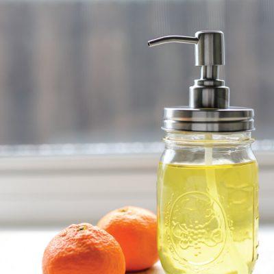 Homemade Citrus Cleaner