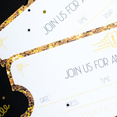Printable Oscars Party Invitations