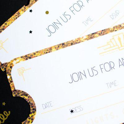 Printable Oscar Party Invitations