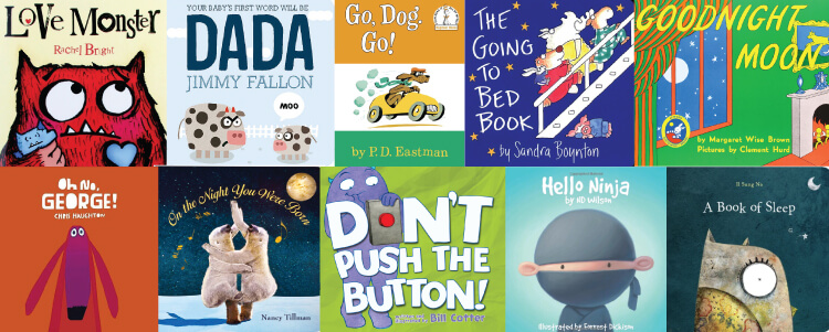 Tired of the same old books night after night? Here are ten books you won't mind reading over (and over and over) to your baby!