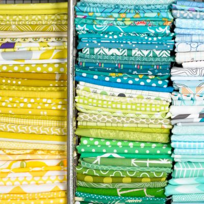 How to Fold a Fat Quarter