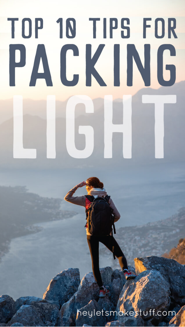 Here are some truly helpful tips for packing light, if you're tired of schlepping a suitcase around the globe. Once you go backpack, you never go back!