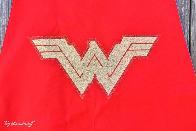 Sew A Wonder Woman Cape Cut Files For New Wonder Woman Logo