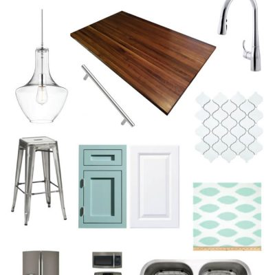 Kitchen Renovation Before + Inspiration Board