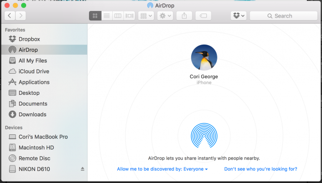 Using airdrop to share files between your apple devices hey need a quick way to get files from your computer to your phone and vice ccuart Image collections