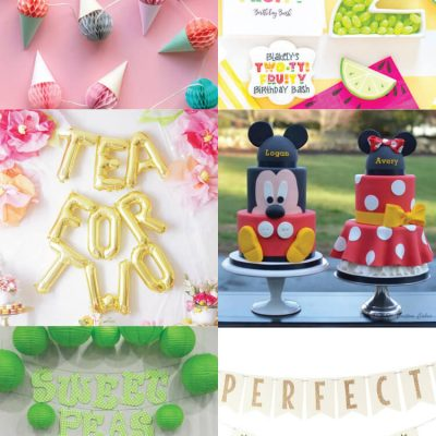 Twin Birthday Party Themes