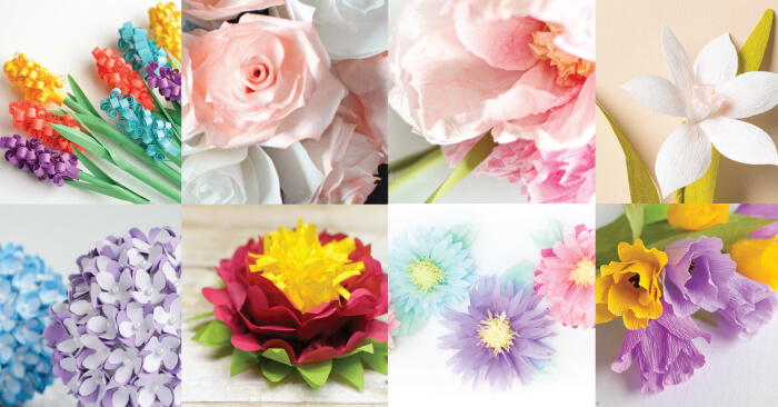 The best paper flower tutorials hey lets make stuff mightylinksfo