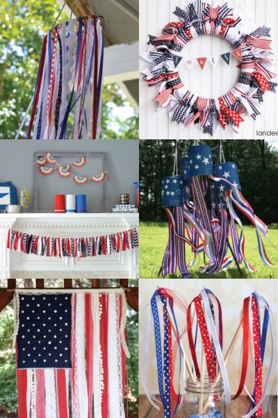 4th of July Ribbon Projects