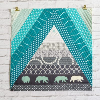 Bear Mountain Quilt-As-You-Go Tutorial