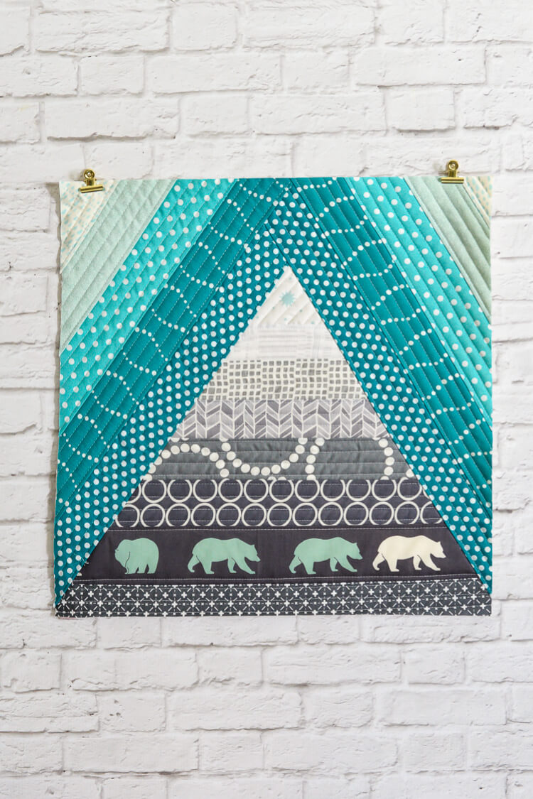 bear mountain quilt as you go tutorial hey let s make stuff