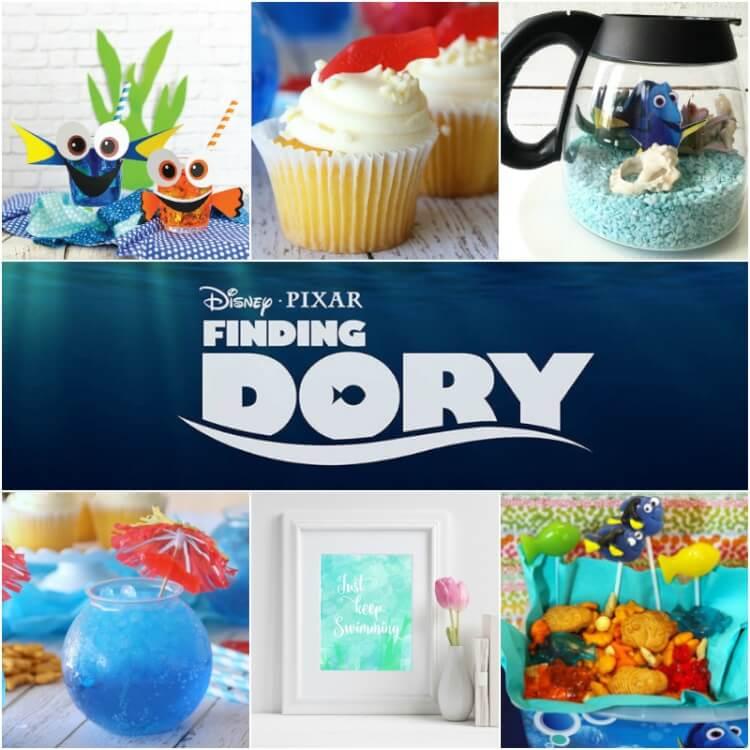 So many cute Finding Dory ideas!