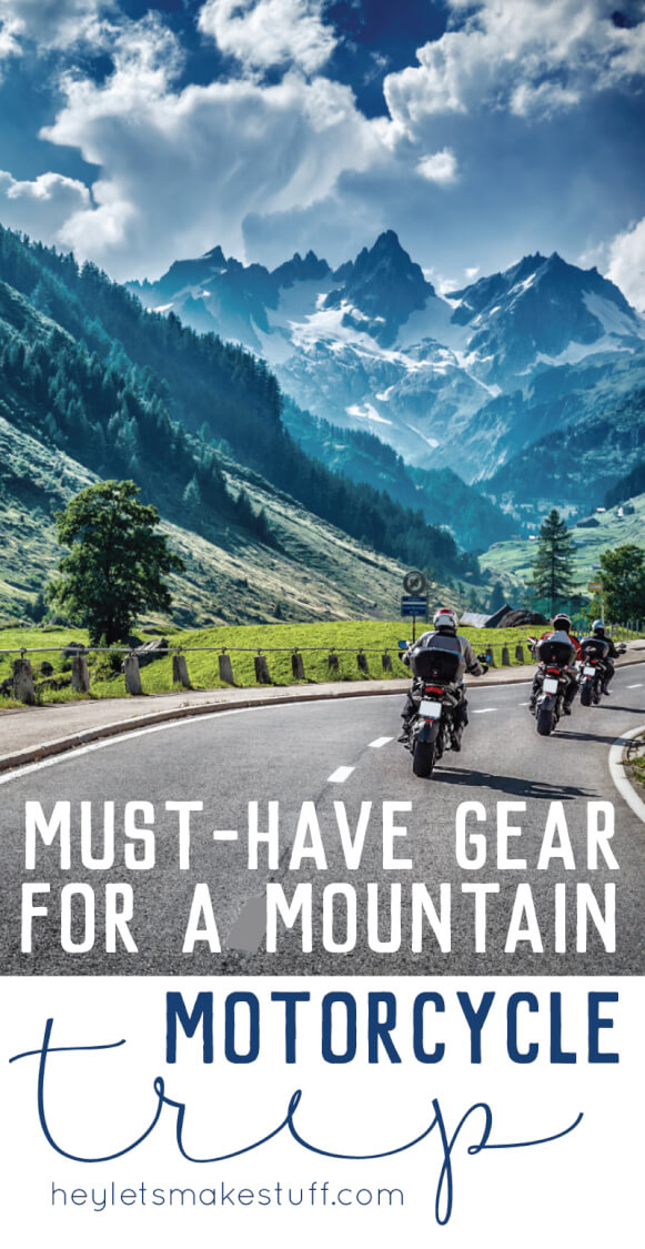 Heading to the mountains on a motorcycle? Here's my list of must-have motorcycle gear for women, specifically for those who want to stay warm!
