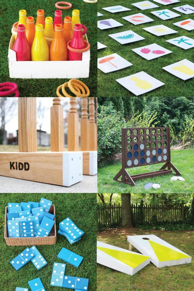 DIY Outdoor Wedding Games - Hey, Let\'s Make Stuff