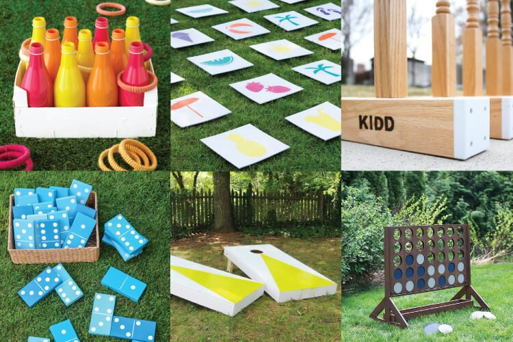 Diy Outdoor Wedding Games Hey Lets Make Stuff
