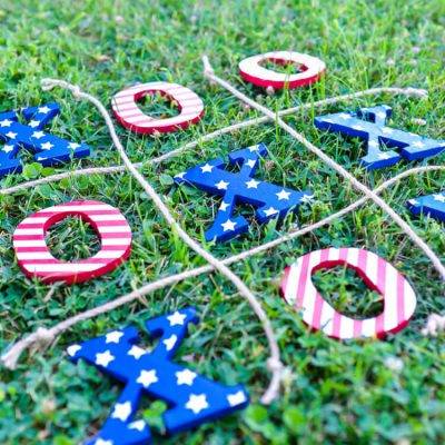 4th of July Tic Tac Toe