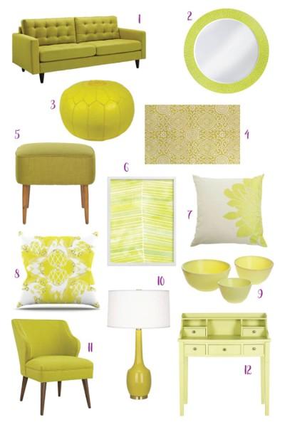 Citron Decor Inspiration