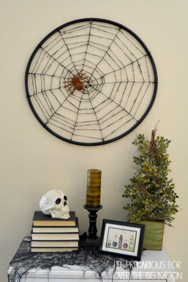 hula hoop spider web