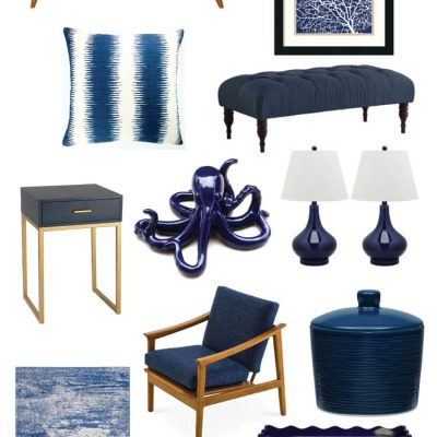Navy Decor Color Inspiration