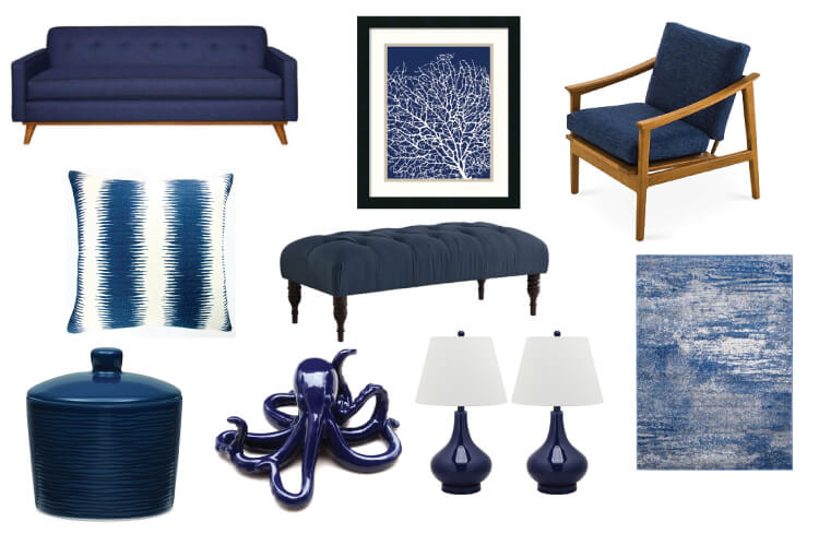 Navy is Navy is a classic color that will add elegance and style to any decor! Pair it with bright colors like citron, pink, or orange—or keep it dramatic with darker tones.a classic color that will add elegance and style to any decor! Pair it with bright colors like citron, pink, or orange—or keep it dramatic with darker tones.