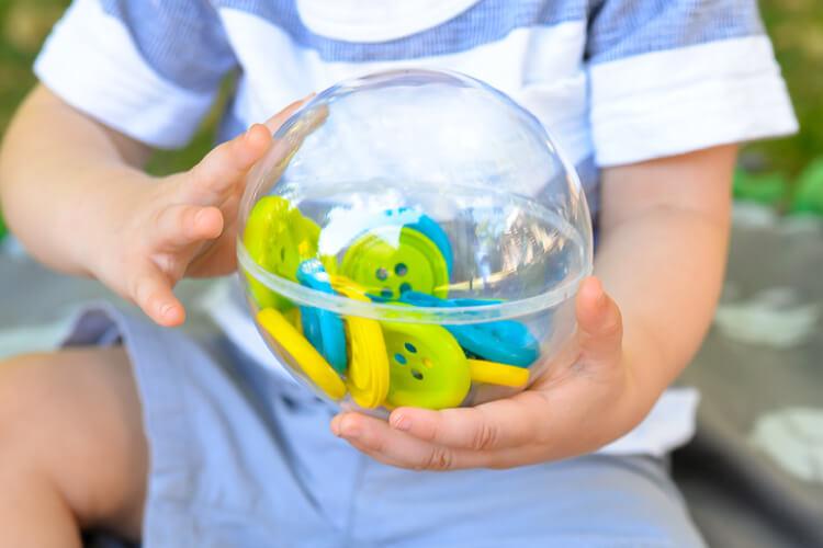 DIY toddler sound shakers