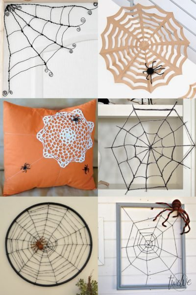 Spooky Spider Web Crafts and DIYs