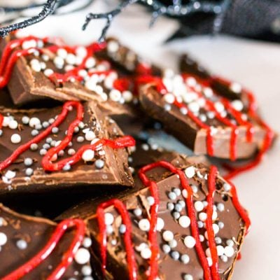 Dracula's Dark Chocolate Espresso Bark
