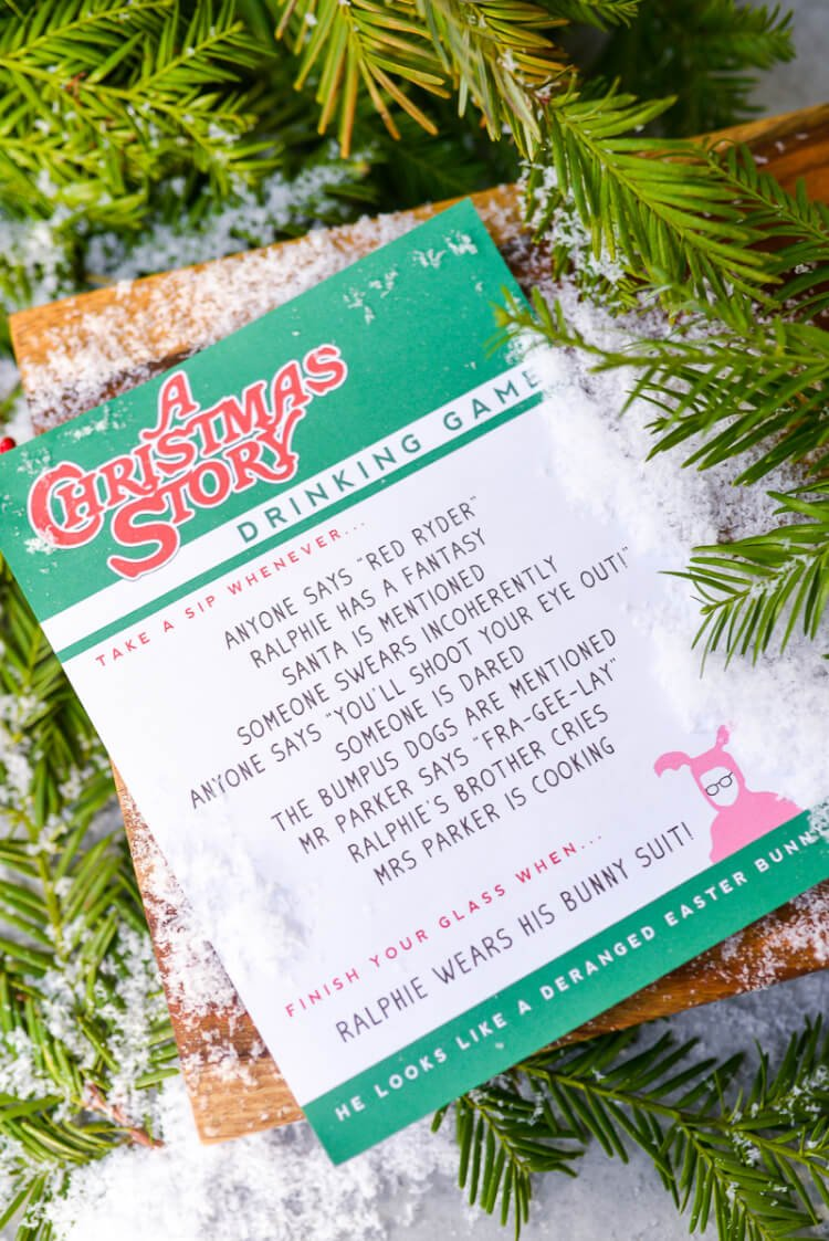 If A Christmas Story is on your must-watch list this holiday season (and why wouldn't it be?), have a little grown-up fun with this hilarious A Christmas Story drinking game!