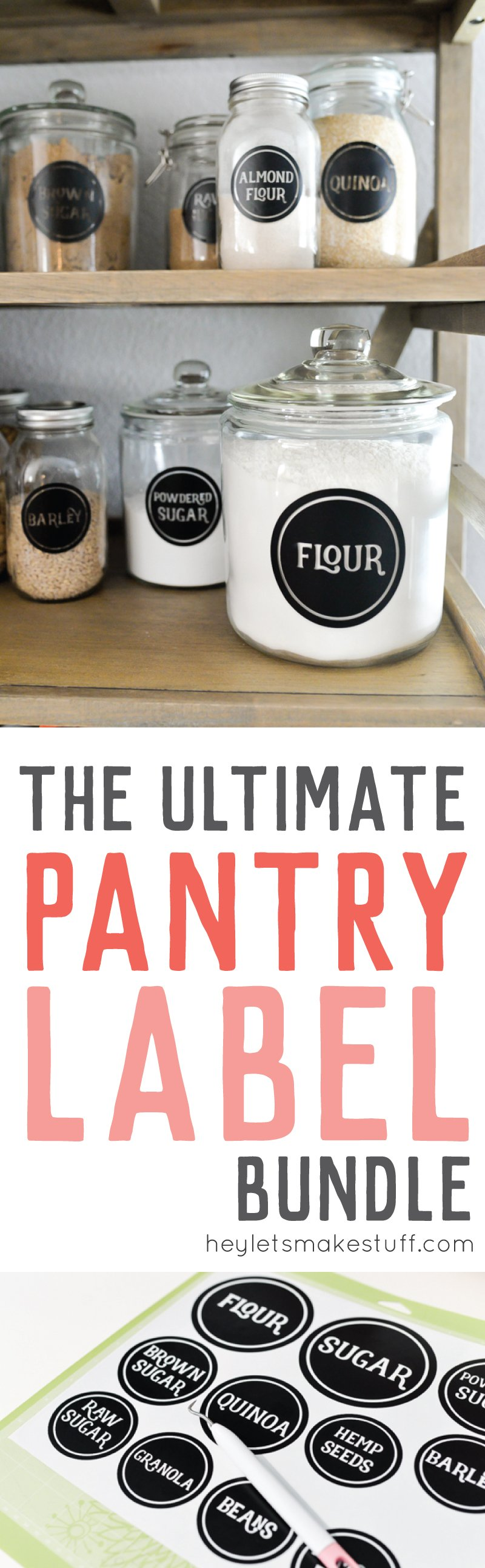 pantry label bundle
