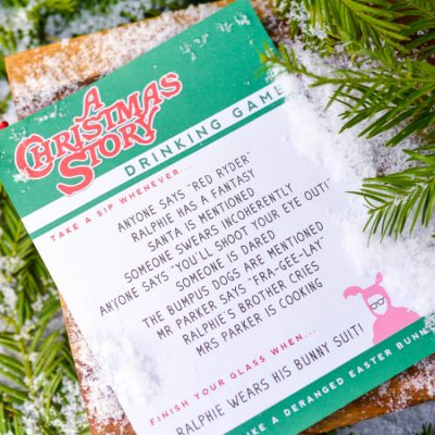 A Christmas Story Drinking Game