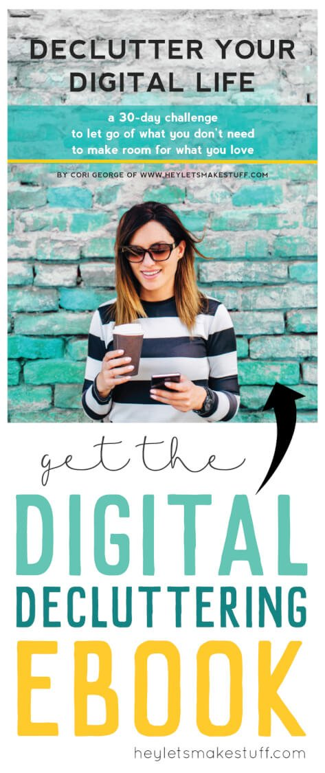 You need to declutter your digital life if you are tired of your inbox overflowing, your phone running out of memory, or having a thousand photos on your computer but not being able find any of them!