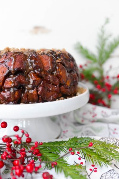 This decadent espresso coffee cake monkey bread is perfect for holiday brunch or even dessert. With loads of rich espresso and sweet cinnamon, this monkey bread will melt in your mouth!