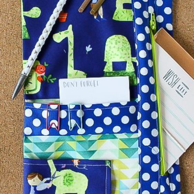 How to Sew a Custom Planner Organizer