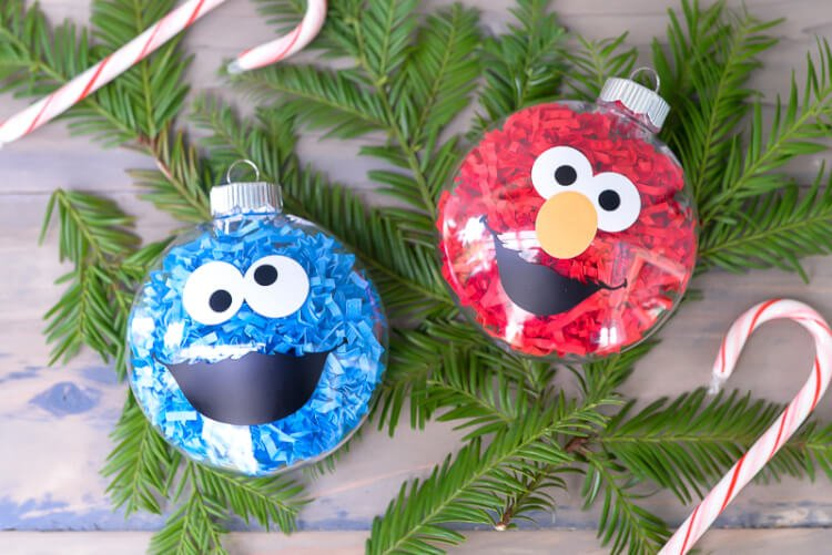Diy Sesame Street Ornaments Hey Let S Make Stuff