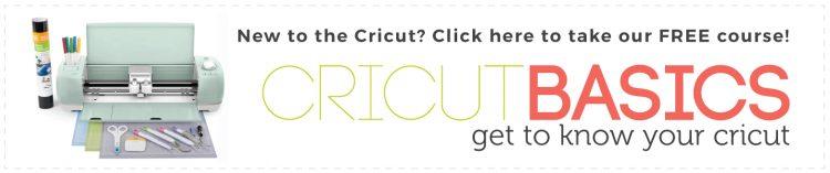 Take the free Cricut Basics Course!
