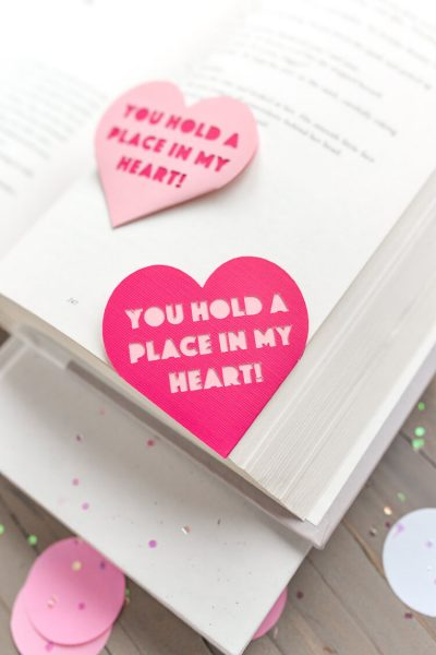 Valentine's Day Heart Bookmark