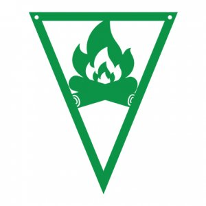 Camping-Pennants---Camp-Fire