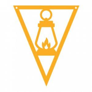 Camping-Pennants---Lantern